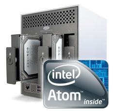 Nuevos servidores web para respaldos Intel Atom